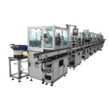 Linha de montagem automática da máquina de produção do armadura do motor