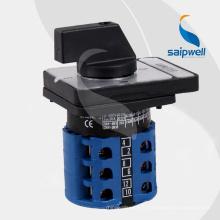 Sélecteur rotatif électrique Saip / Saipwell AC 440V 2014 160A (LW26-20 AMMETER)