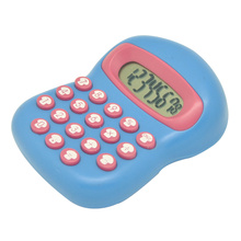Cute Mushroom Shape Pocket Calculator for Children