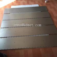 Высококачественные полированные молибденовые плиты / листы или вольфрамовые пластины / листы с хорошей ценой