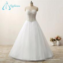 Custom Made A-Line Sweetheart Bandage High Quality Wedding Dress
