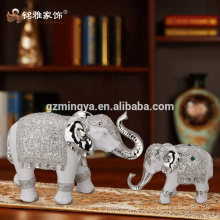 Hotel decoration home decorations indoor wholesales resin art resin crafts luxury elephant resin statue