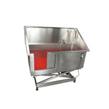 Electric lifting Stainless Steel dog grooming bath tub