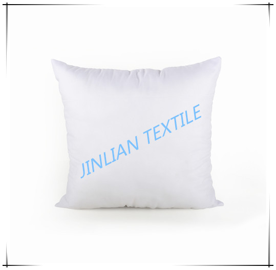 white color square pillow