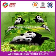 100% polyester tissu pour reine king size / ensemble de literie / drap de lit mis beau tissu de conception