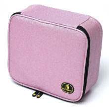 SHBC Factory Customized makeup bag, ladies hand bags for making up brushes, travel cosmetic bag