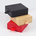 Drawer shaped jewelry box with foam