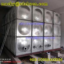 Nice price 50000gallon galvanized square steel water reservoir tank