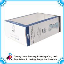 caja de regalo de papel impreso claro claro fabricante de ventanas de pvc