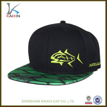 custom made promotional printing casquette snapback hat cap