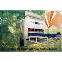Automatische Lader- und Entlader-Heißpresse + PLC- / Zylinderzylinder