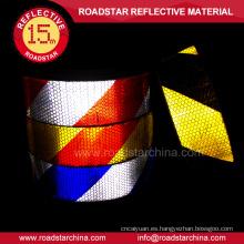 Fábrica precio de adhesivo claro cinta reflectante para camiones