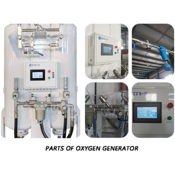 Onsite PSA Oxygen Making Machine Para Hospital