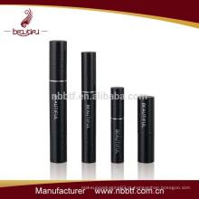 Black personalizado compõem mascara caso alumínio mascara tubo