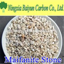 Grano de piedra de 1-2 mm maifanita para la planta de tratamiento de agua