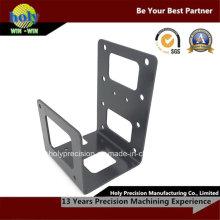 CNC-Bearbeitung mit Aluminium-Stanzteil
