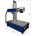 20w mini CNC Jewelry Ring Laser Engraving Machinery