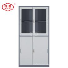 Armário de armazenamento do escritório da escola bom preço com portas