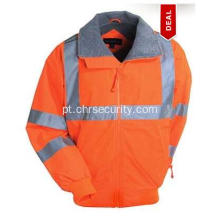 Port Authority Segurança Orange Reflective Jacket