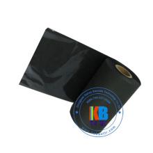 печатная машина для футболок Textile Wash Care Label теплопередача Черная лента термопереноса