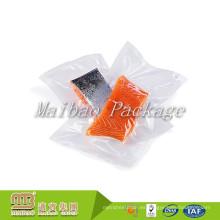 Comercio al por mayor barato FDA Premium transparente de plástico Nylon / Pe Frozen Fish Meat Packaging Custom Impreso bolsa de vacío de alimentos