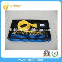 1 * 32 PLC SC / UPC fibra óptica plc divisor patch panel