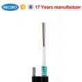 GYXTC8S Figure 8 tube central autonome autoportant 2 6 12 câble à fibres optiques de 24 cœurs
