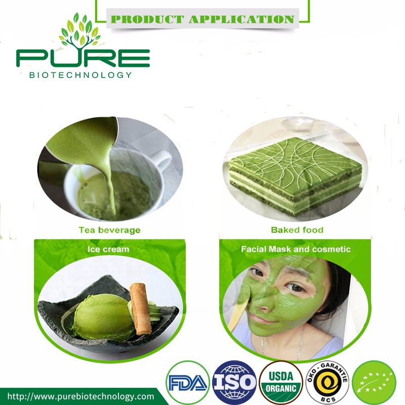 Organic Matcha Apply