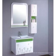 Muebles del gabinete de cuarto de baño del PVC de los 60cm (B-534)