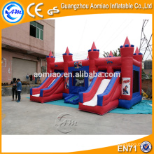 Chariot de bouncil gonflable combo extérieur certifié CE pour enfants / adultes