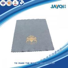 Lente de microfibra personalizada del logotipo que limpia el paño