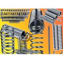 Made to Order Custom Long Duration Metal Compression Springs