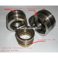Metallfaltenbalg Bleicher Sahft Dichtung 37401703 HF 689
