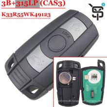 Top quality car key  remote key 3 button 315/433/868/315 MHZ