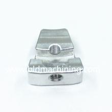 Fresado CNC Mecanizado de pequeñas piezas de repuesto de aluminio