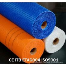 Mesh en fibre de verre résistant à l'alcalis haute qualité
