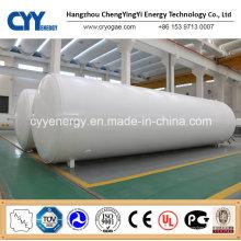 Réservoir de stockage d'eau de GNL LPG de dioxyde de carbone de dioxyde de carbone d'argon d'azote d'oxygène de 5 ~ 200m3