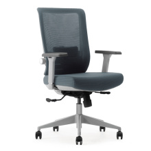 BIFMA Office Commercial Lift Tilting Swivel Mesh and Fabric Chair