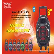 PA altavoz de la batería Altavoz Bluetooth Q7s-16 con promoción de precio