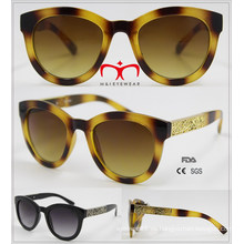 Nuevas gafas de sol de moda que vienen con la decoración del metal (WSP601535)