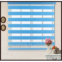 100% polyester fabric Combi blinds