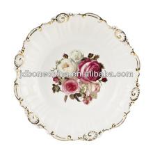 Frasco jarra jarra jarra Tailandia royal hueso chian cerámica placa de porcelana