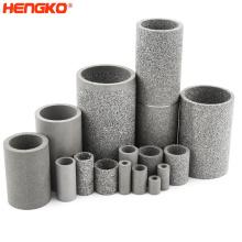 sintered metal filter tubes stainless steel filter cartridge cylinder filter tube for liquid oil filtration system