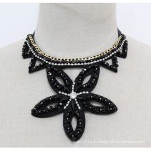 Дамы Звезда Кристалл Мода Ручной Работы Костюм Ювелирные Изделия Ожерелье