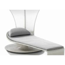 Outdoor Luxury Chaise Folding Sun Lounge