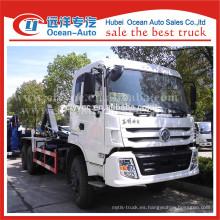 Dongfeng kinland descargar camión de basura capaz