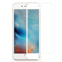 3D White Glass Screen Protector für iPhone 6