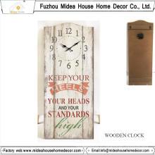 Horloge murale personnalisée d'usine avec n'importe quelle taille ou n'importe quel design