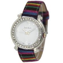 Rainbow Strap Bling Fashion Lady Watch