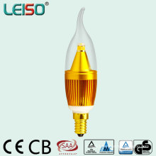 2500k 90ra 380lm C35 LED Bulb with CB SAA Approval